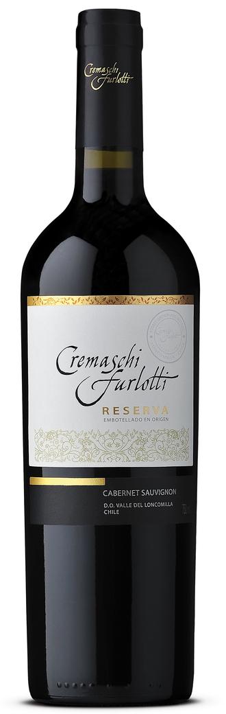 Vino Cremaschi Furlotti Reserva Cabernet Sauvignon 750cc
