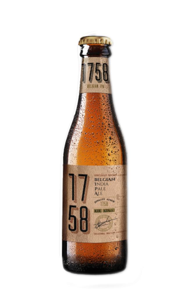Cerveza 1758 IPA Botella 330cc 6,5º alc.