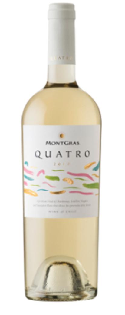 Vino Montgras Quatro Gran Reserva Blanc (CH-VI-SE-SB) 750cc