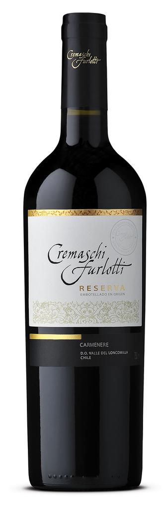 Vino Cremaschi Furlotti Reserva Carmenere 750cc