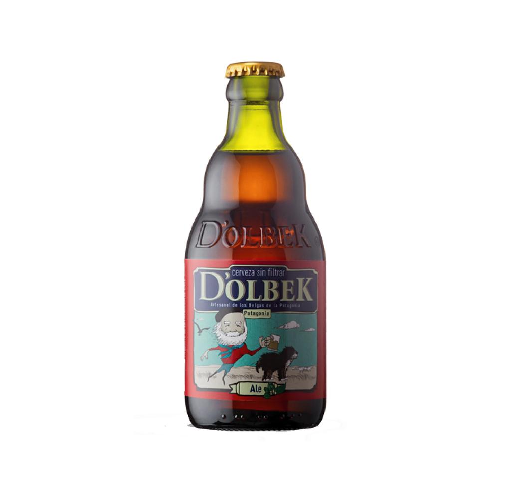Cerveza D'OLBEK Pampa Ale 330cc