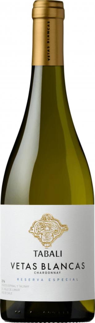 Vino Tabalí Vetas Blancas Reserva Especial Chardonnay 750cc