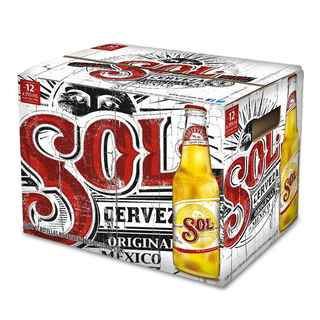 12x Cerveza Sol Botella 330cc
