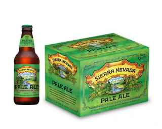 12x Cerveza Sierra Nevada Pale Ale en Botellas 355cc