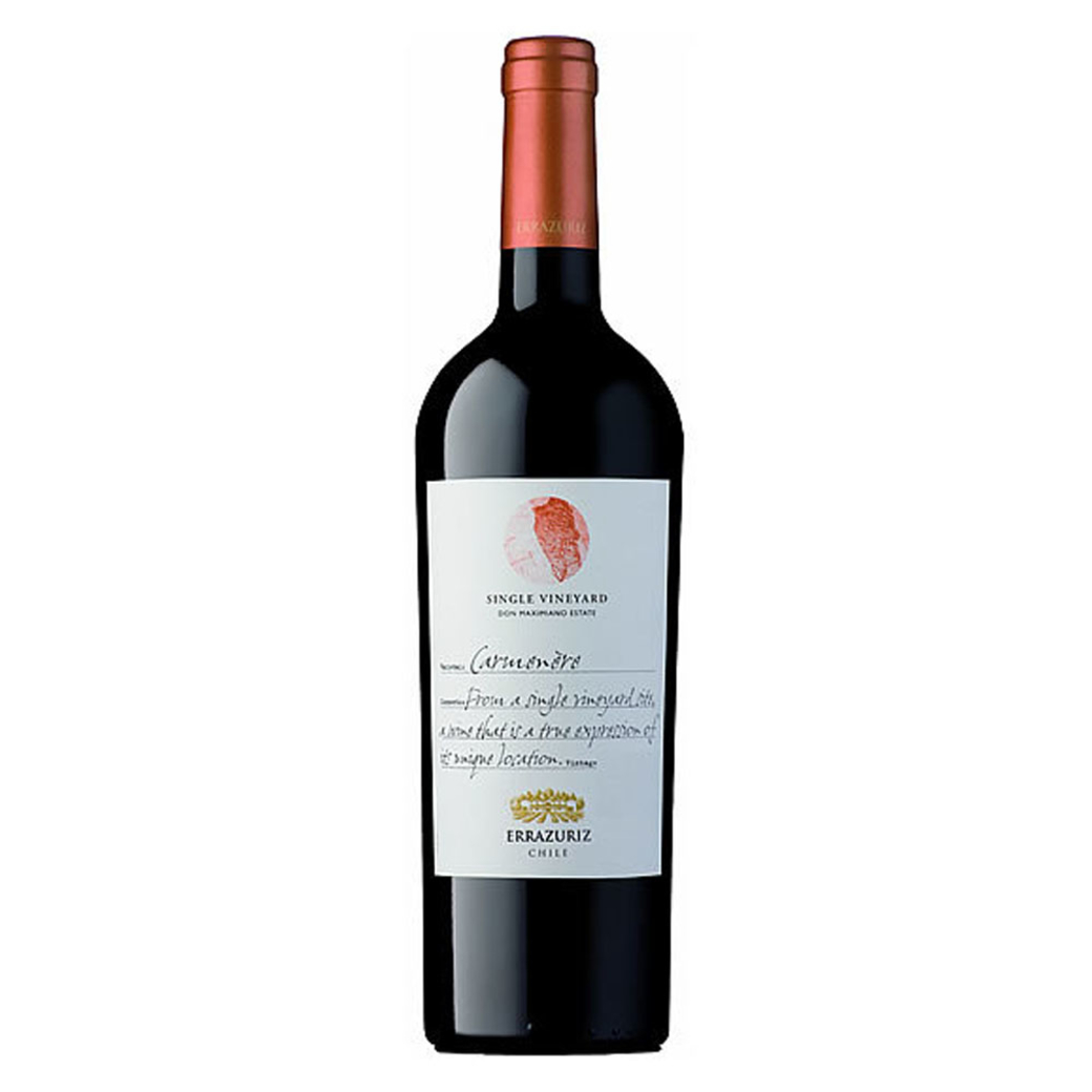 Vino Errazuriz Single Vineyard Carmenere 750cc