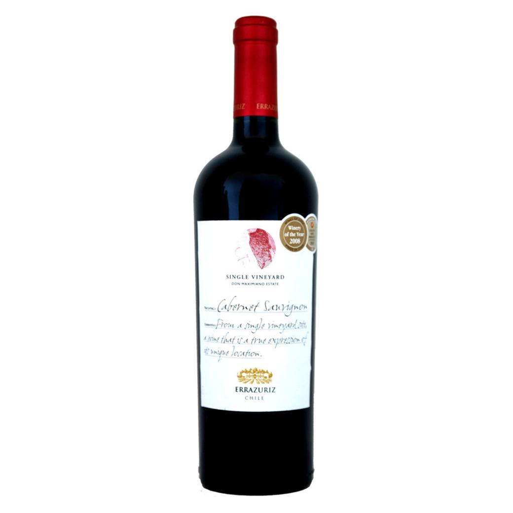Vino Errazuriz Single Vineyard Cabernet Sauvignon 750cc