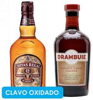 CLAVO OXIDADO: Chivas Regal 12 años + Drambuie