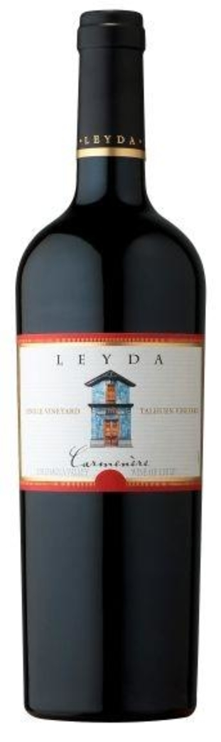 Vino Leyda Single Vineyard Talhuén Carmenere 750cc