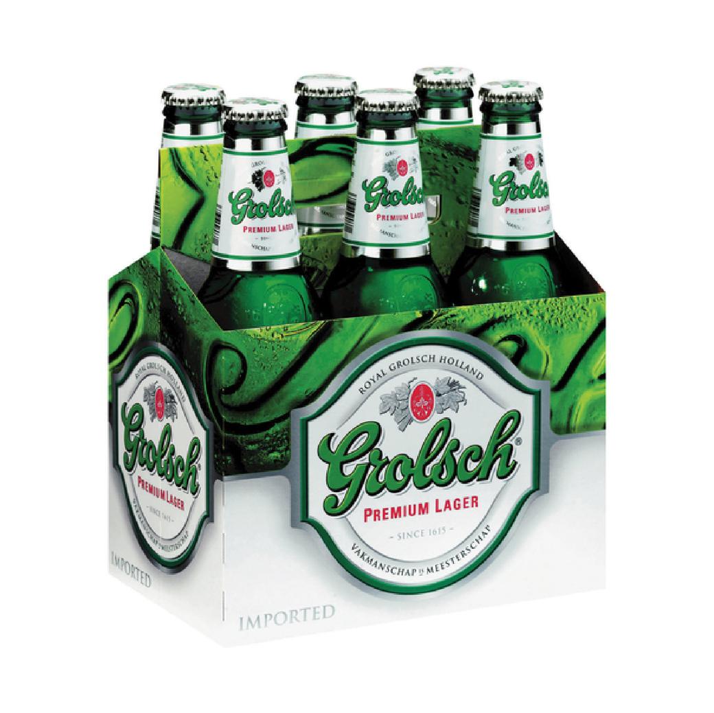 6x Cerveza Grolsch en Botellas 330cc