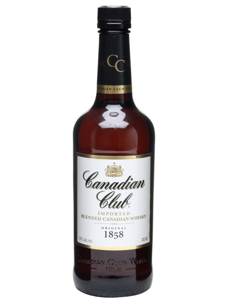 Whisky Canadian Club 700cc 40º alc.
