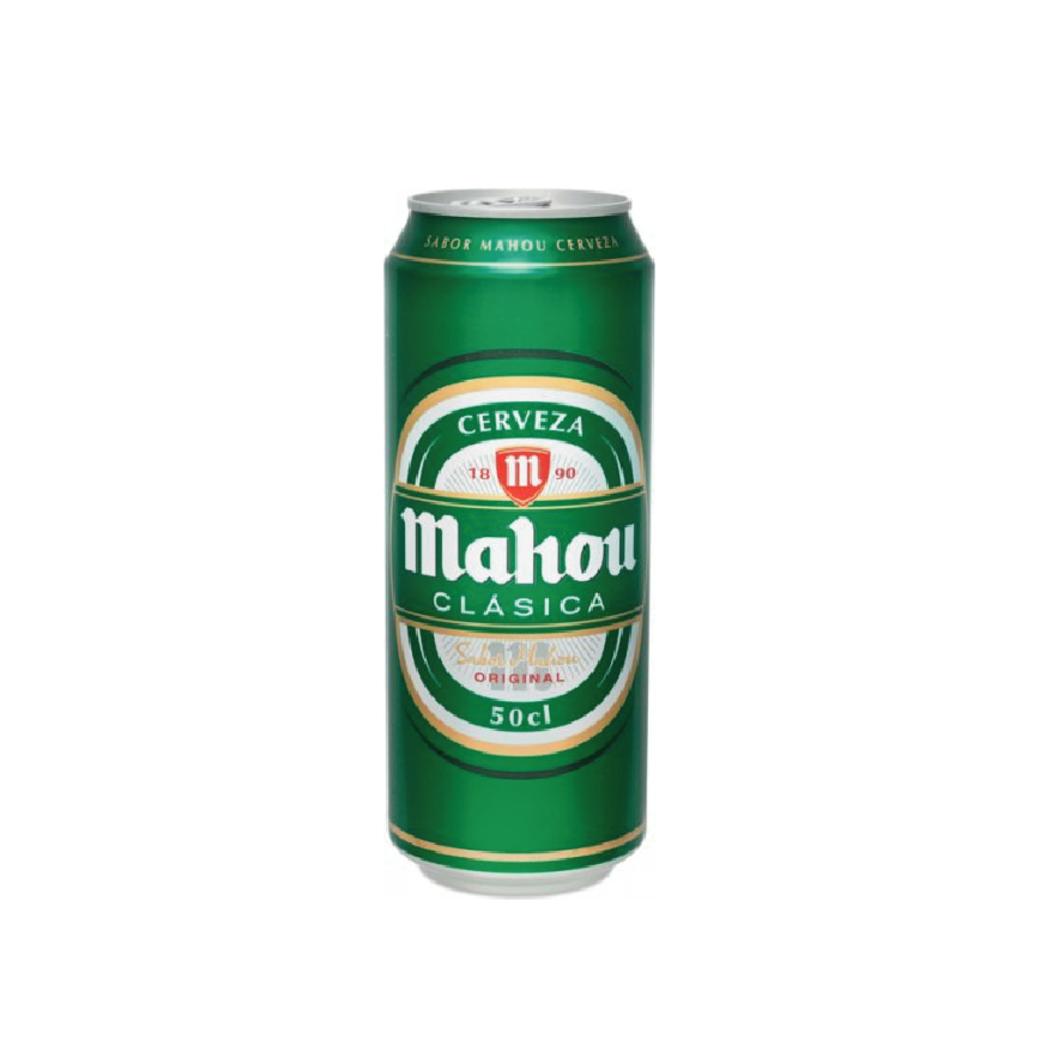 Cerveza Mahou Clásica en Lata 500cc