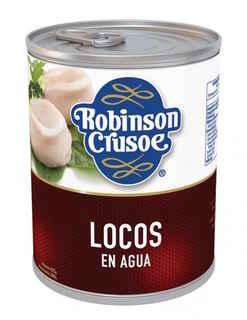 Locos Al Natural Robinson Crusoe 425 gramos