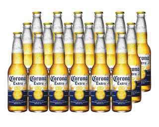 18x Cerveza Corona Extra en Botellas 355cc