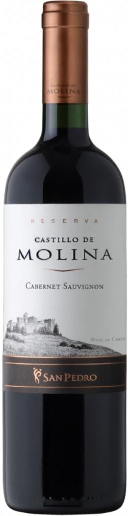 Vino Castillo de Molina Cabernet Sauvignon 750cc