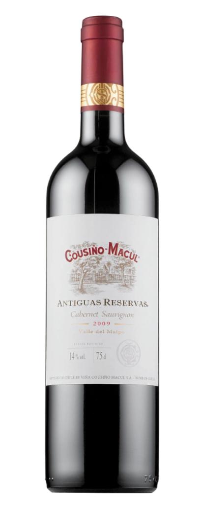 Vino Cousiño Antiguas Reservas Cabernet Sauvignon 750cc