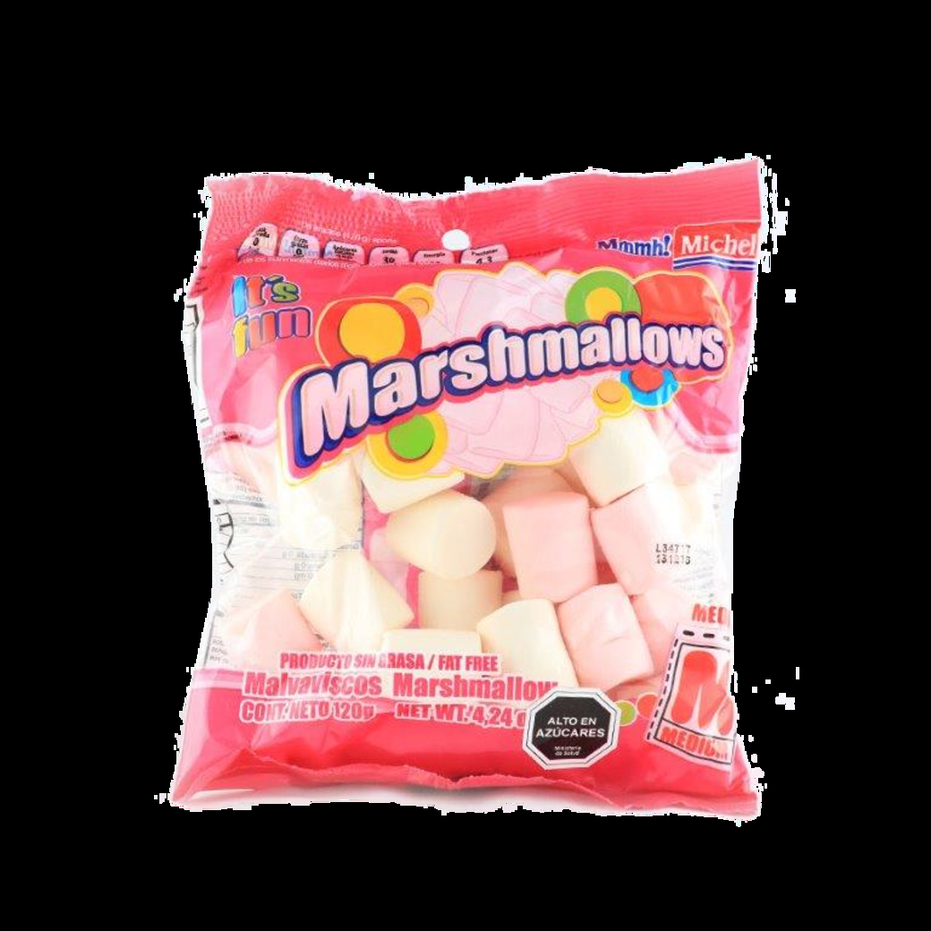 Marshmallow Michell Mediano Mixto 120 Gramos