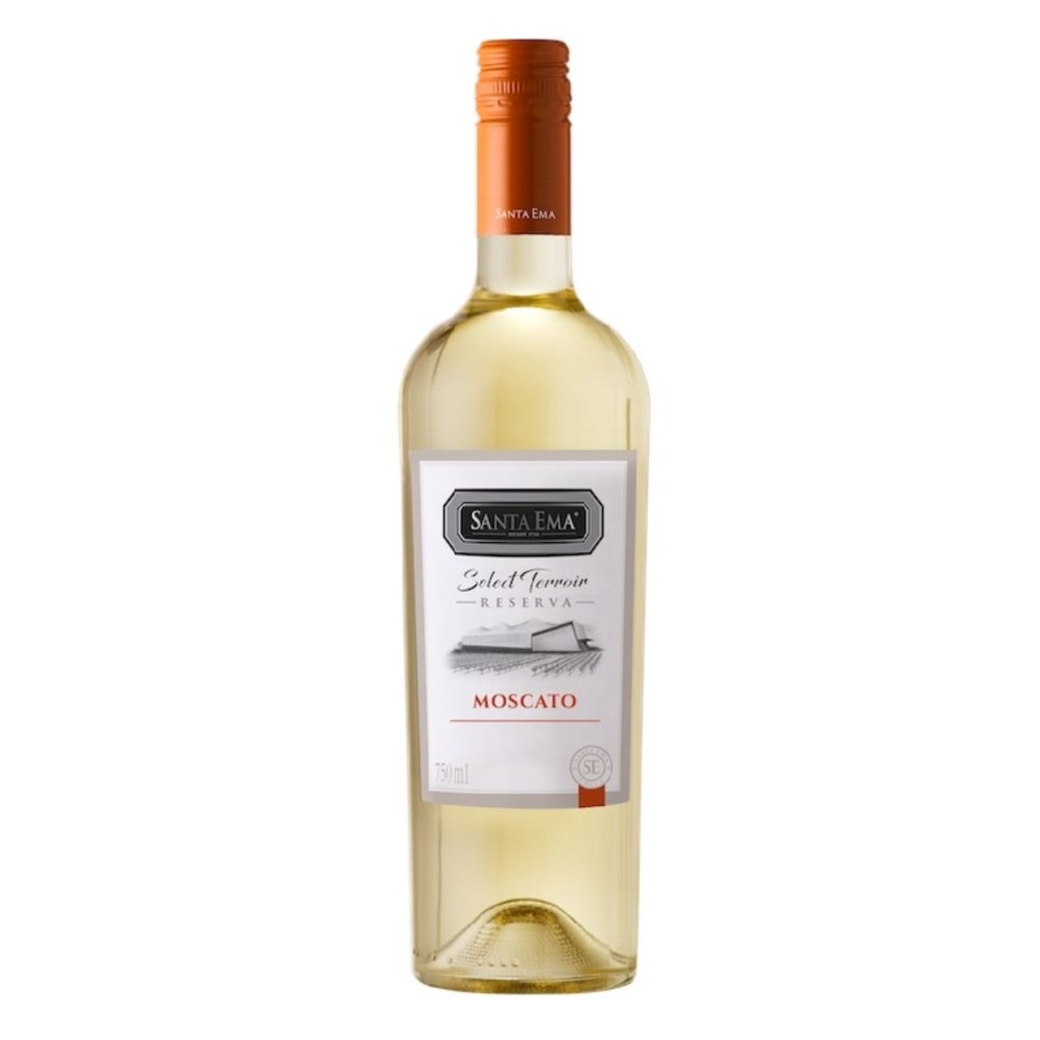 Vino Santa Ema Select Terroir Reserva Moscato 750cc