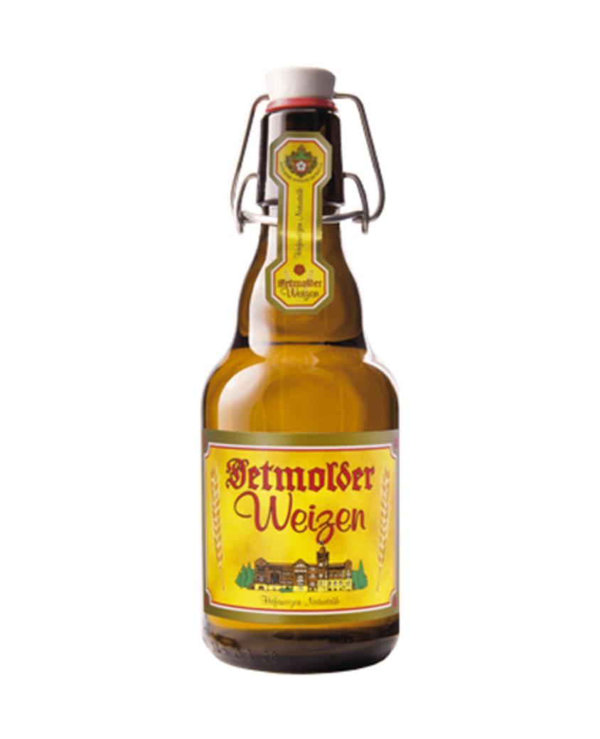 Cerveza Detmolder Weizen Botella 330cc 5,0°Alc.
