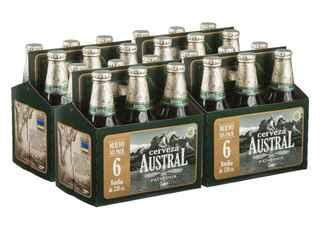 24x Austral Lager en Botellas 330cc