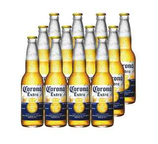 12x Cerveza Corona Extra en Botellas 355cc