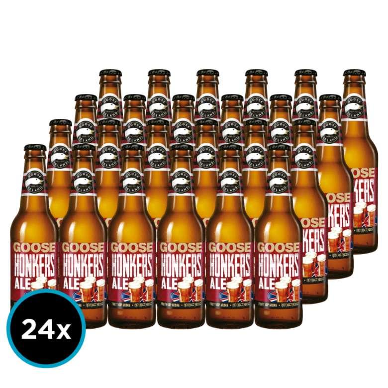 24x Cerveza Goose Island Honkers Ale en Botellas 355cc