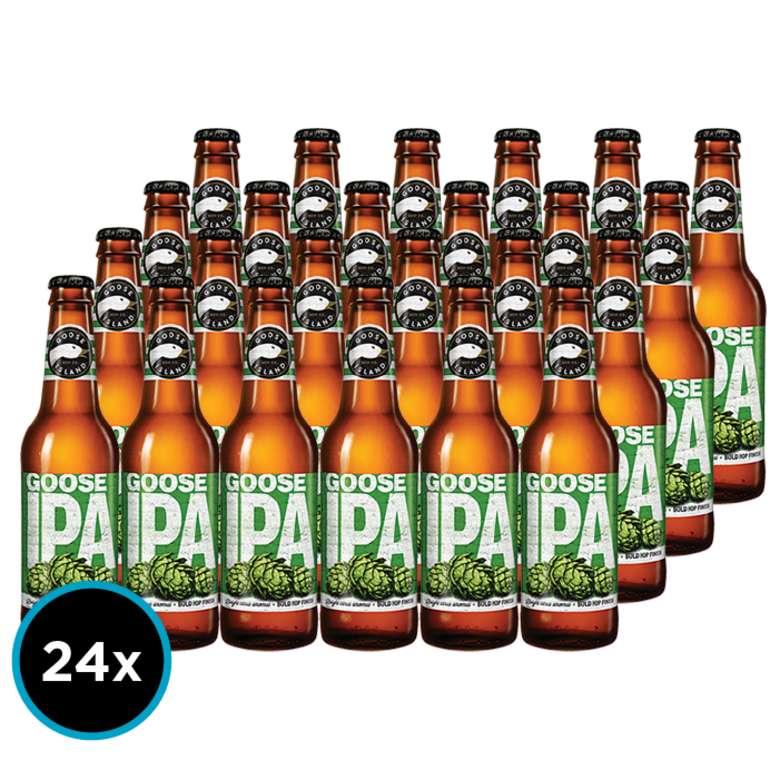 24x Cerveza Goose Island IPA en Botellas 355cc