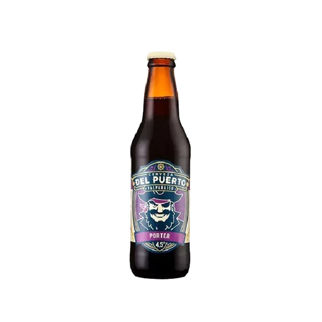 Cerveza Del Puerto Porter en Botella 330cc