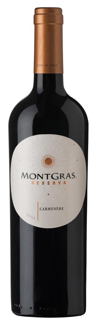 Vino Montgras Reserva Carmenere 750cc