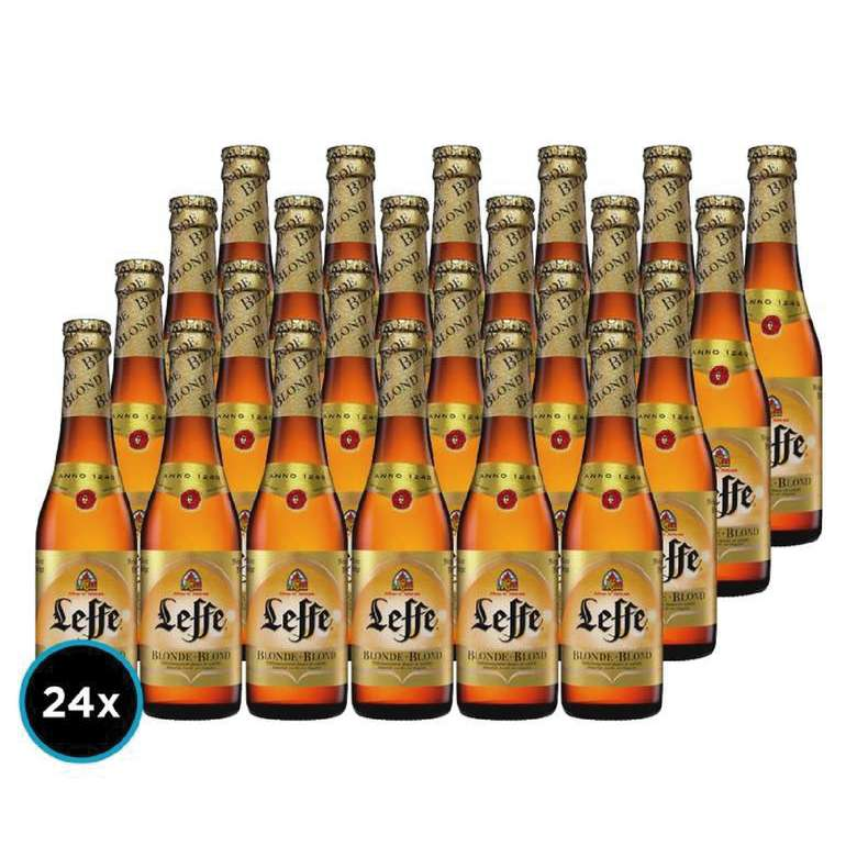 24x Cerveza Leffe Blond Botella 330cc