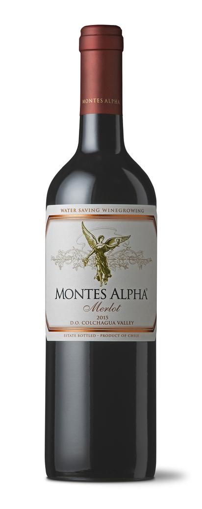 Vino Montes Alpha Merlot 750cc