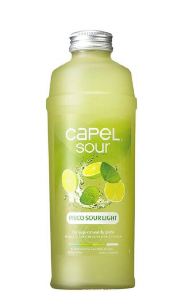 Pisco Sour Light Capel 700cc 12º alc.
