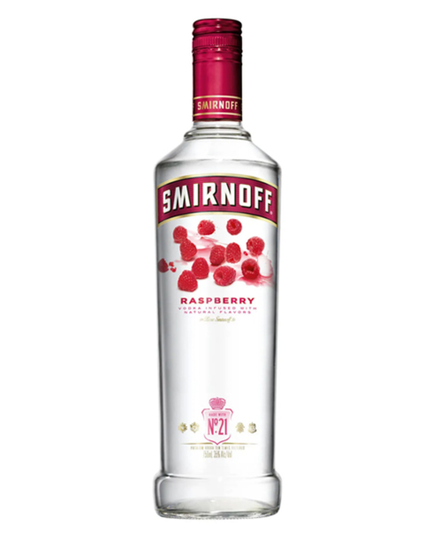 Vodka Smirnoff Raspberry 750cc
