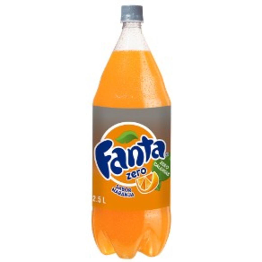 Fanta Zero 2,5 Lts