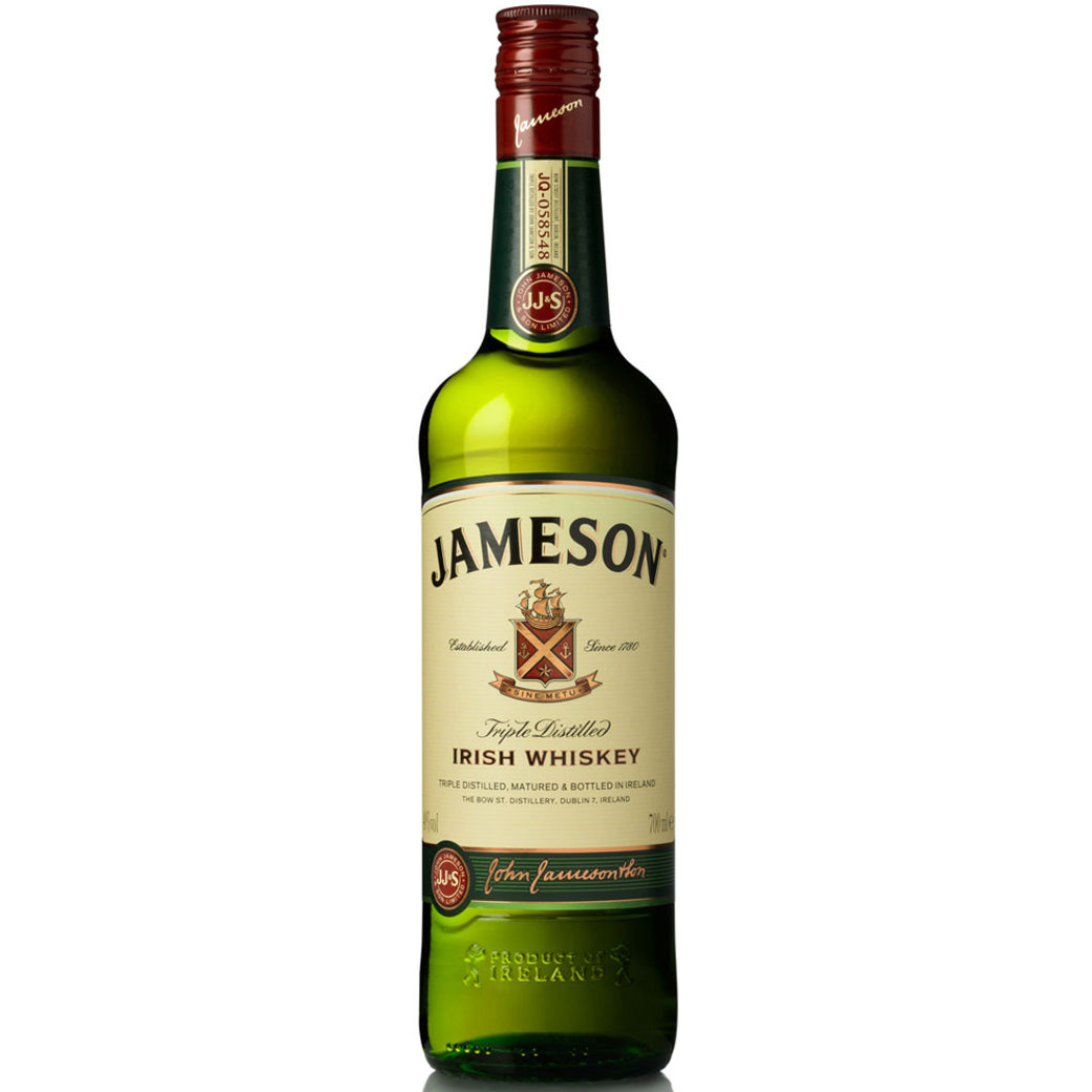 Whiskey Jameson Irish Santard 40º 750cc