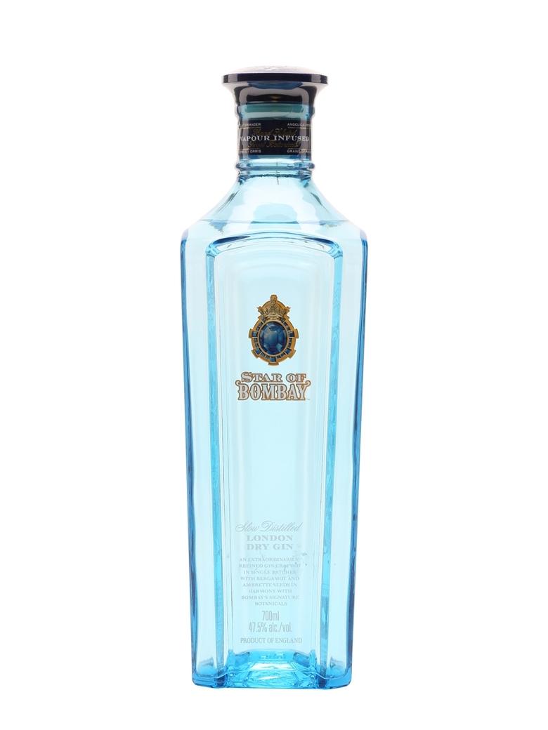 Gin Star Of Bombay 750cc 47,5º alc.