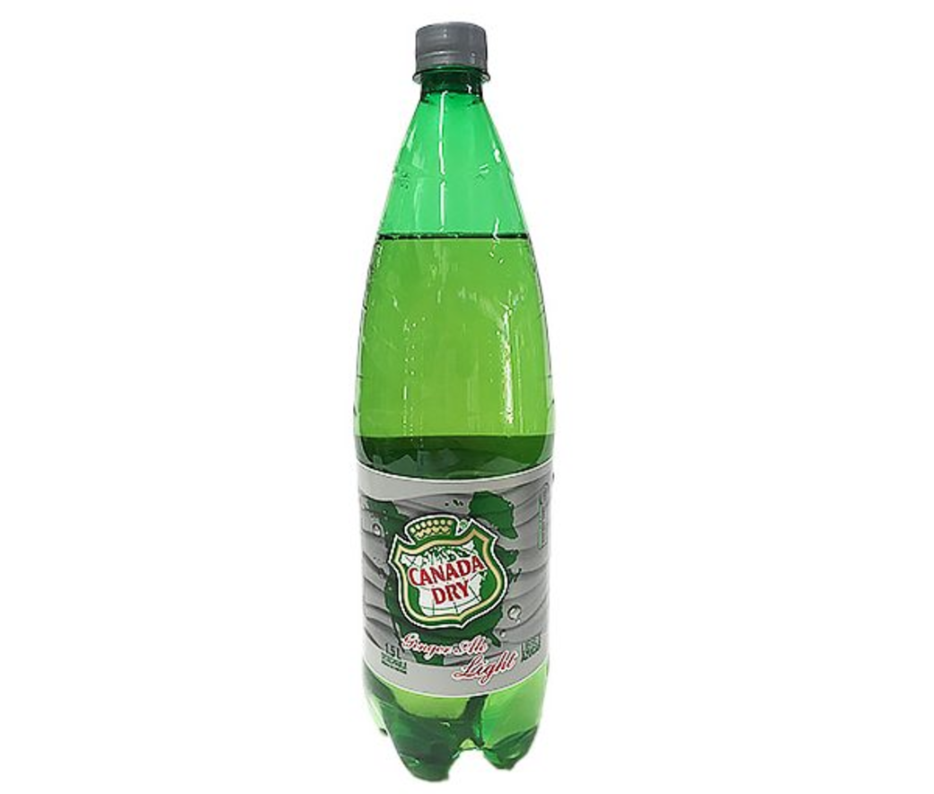 Canada Dry Ginger Ale Light 1,5 Lts