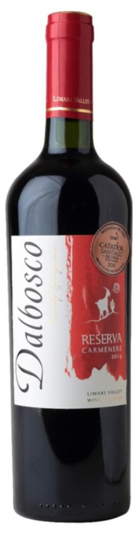 Vino Dalbosco Reserva Carmenere 750cc