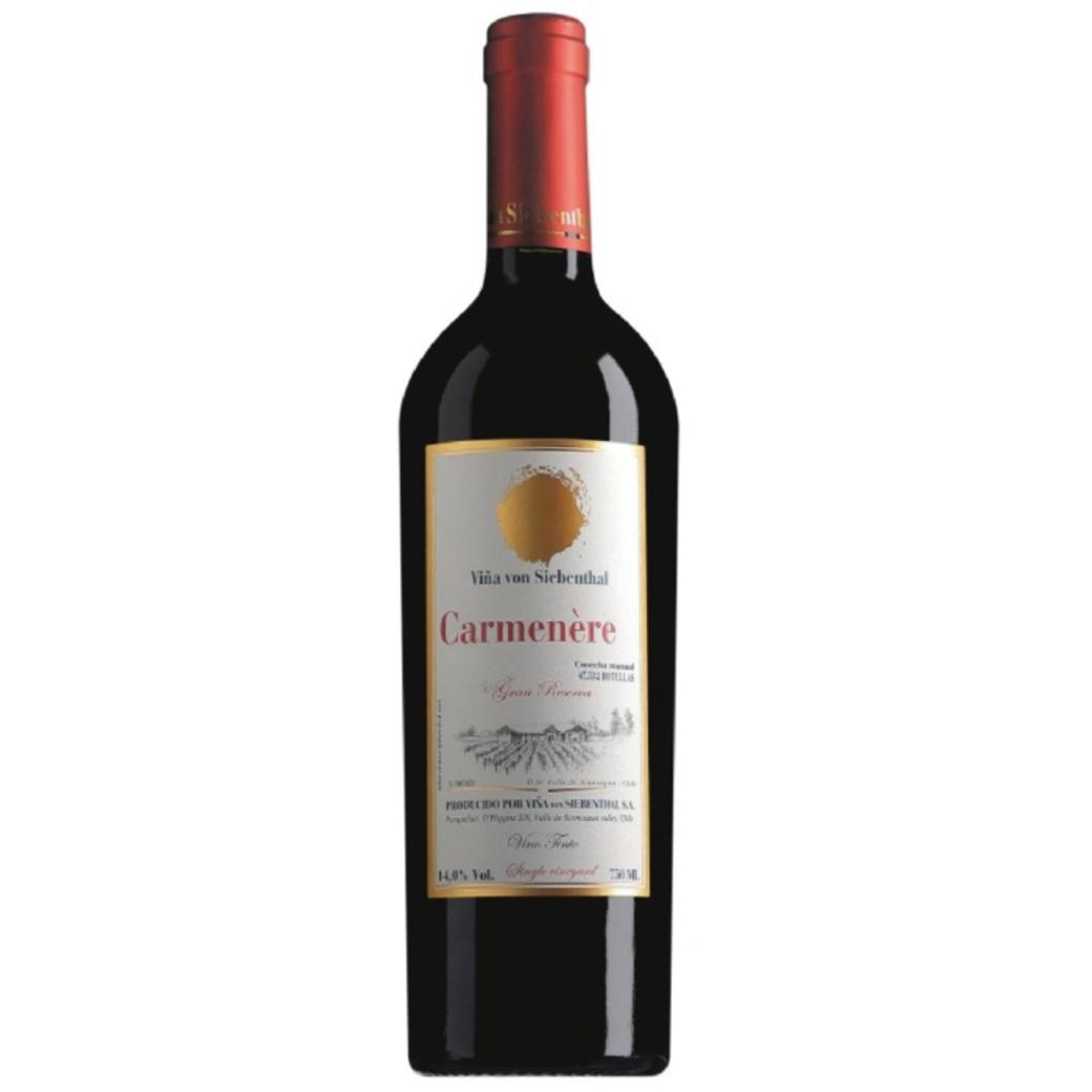 Vino Von Siebenthal Carmenere Gran Reserva 750cc