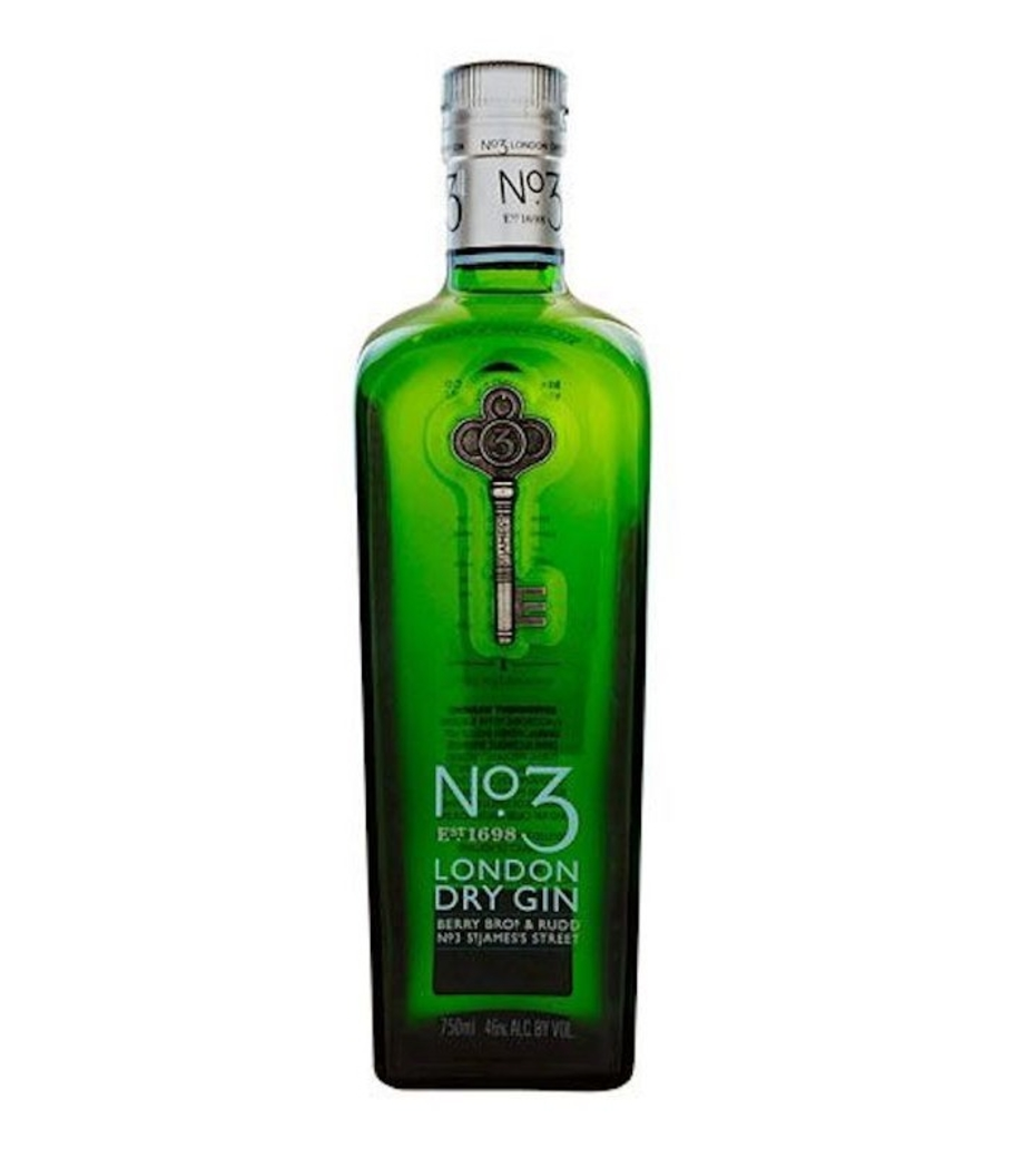 Nº3 London Dry Gin 700cc 46º alc.
