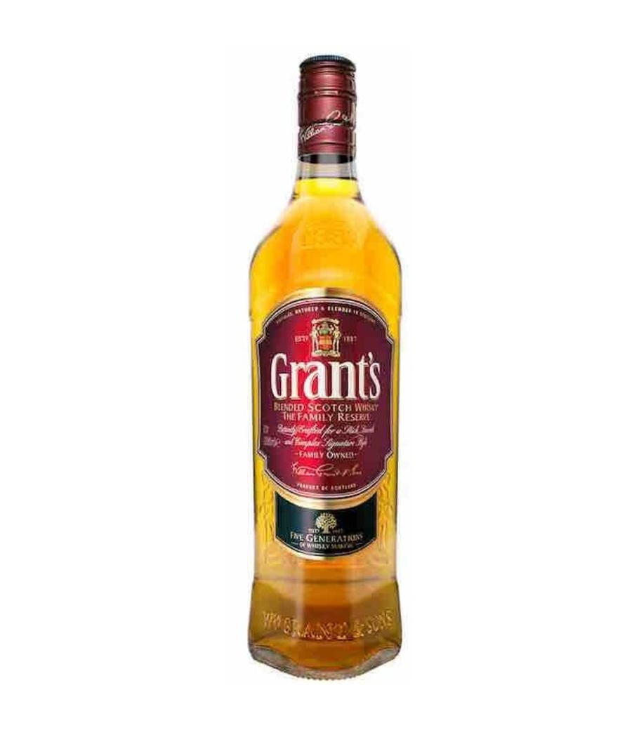 Whisky Grants Family Reserve 750cc 40º alc.