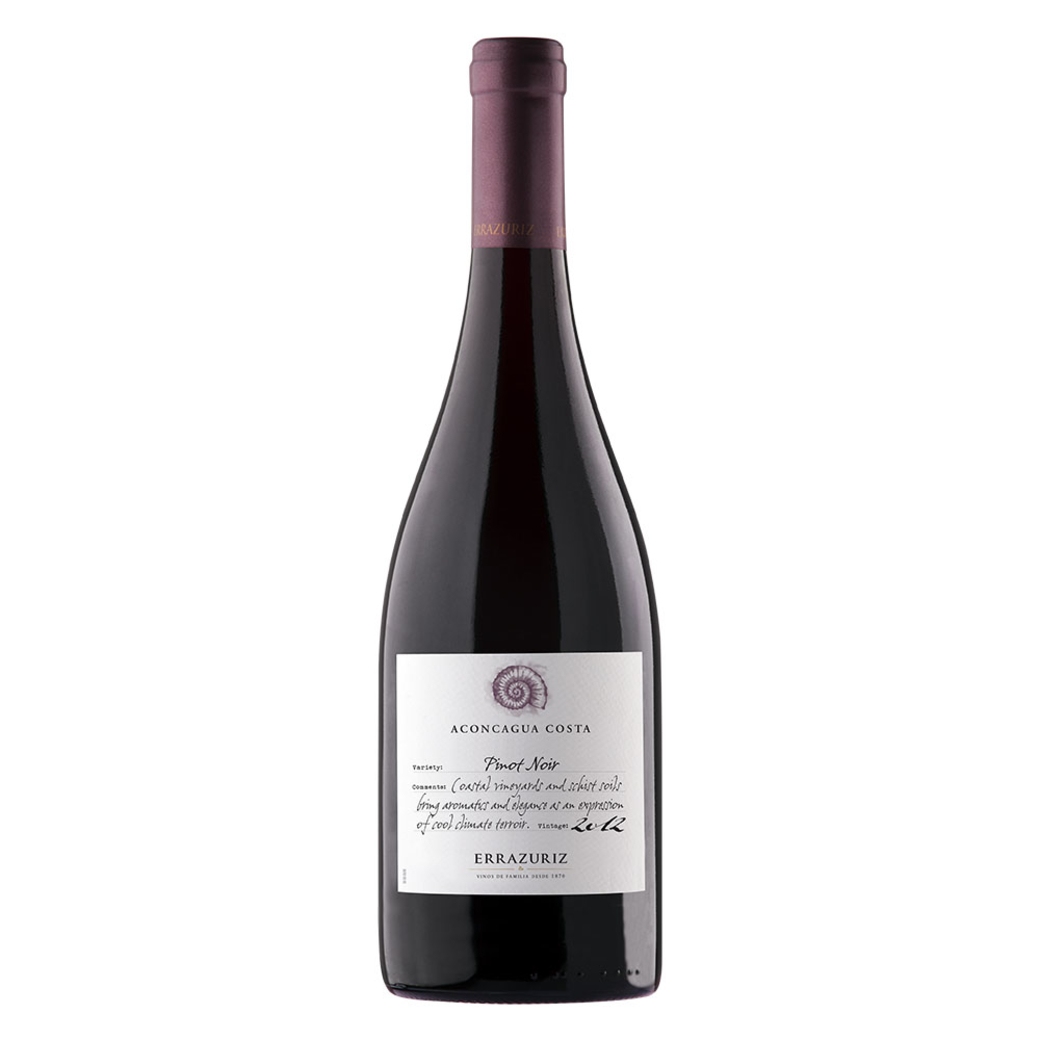 Vino Errazuriz Aconcagua Costa Pinot Noir Single Vineyard 750cc
