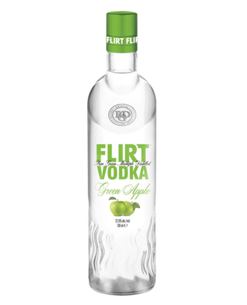 Vodka Flirt Green Apple 700cc