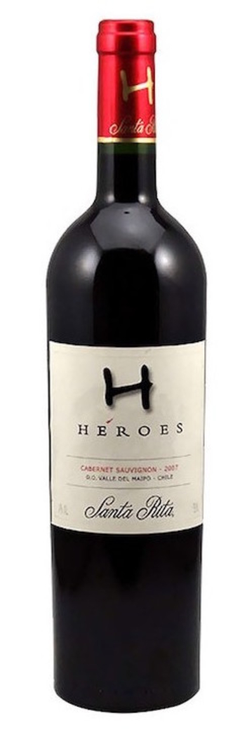 Vino Heroes Reserva Especial Cabernet Sauvignon 750cc