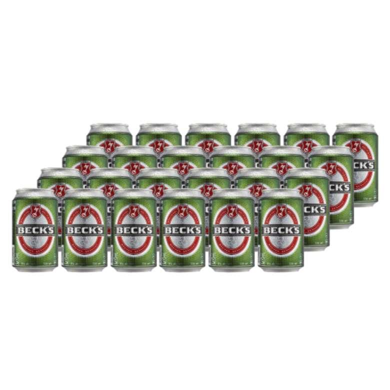 24x Cerveza Becks en Latas 330cc