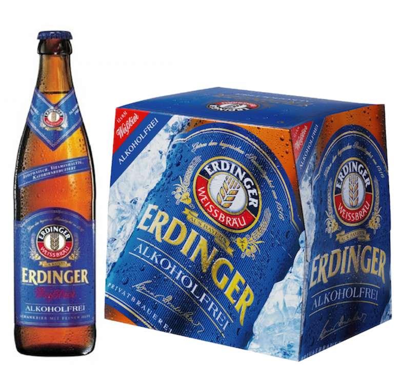 12x Cerveza Erdinger Sin Alcohol Botella 500cc