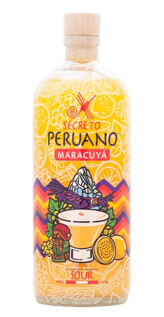 Pisco Sour Secreto Peruano Maracuyá 700cc