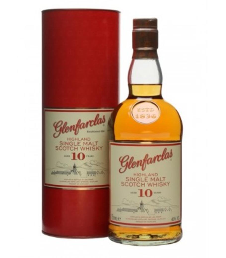 Whisky Glenfarclas 10 años 700cc 40º alc.