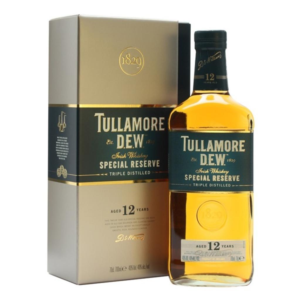 Whisky Tullamore Dew 12 años 700cc 40º alc.