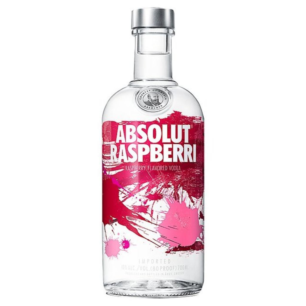Vodka Absolut Raspberri 750cc