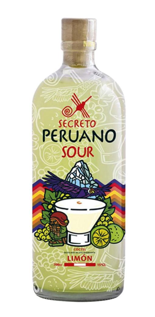 Pisco Sour Secreto Peruano Limon 700cc